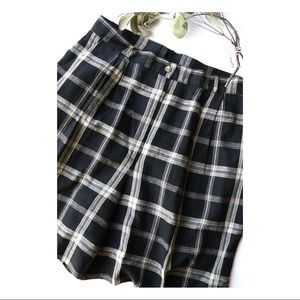 Vtg Talbots Plaid Shorts